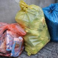 pytlový sběr tříděných odpadů, autor: R. Drašnar