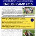 Příměstský tábor s angličtinou