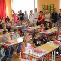 1. školní den ZŠ Mašov