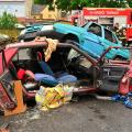 Starý autovrak se hasičům vždy hodí, autor: Hasiči Turnov