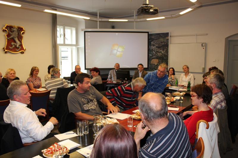 Setkání starostů ORP květen 2015